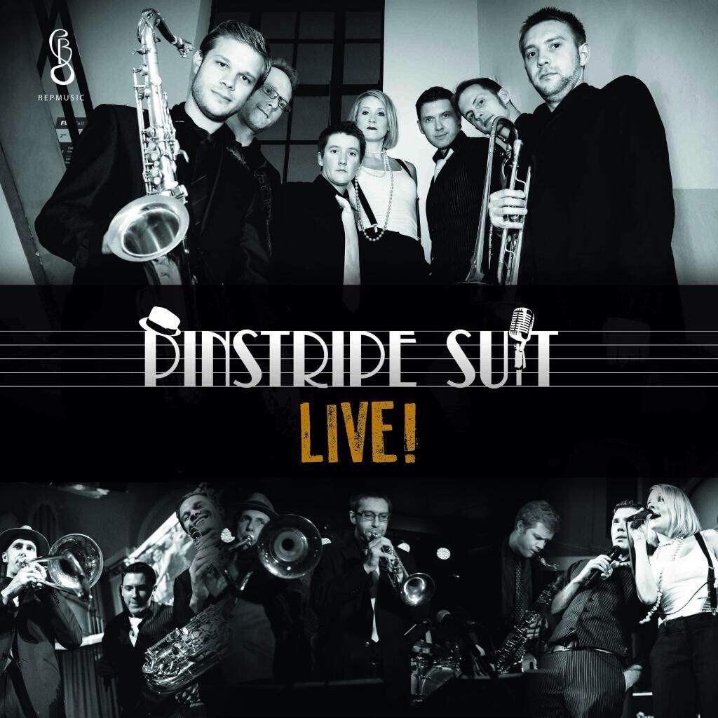 Pinstripe Suit Live!